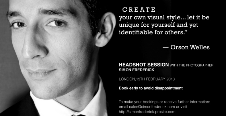 Your headshot is the most important asset you will have to open doors, get you noticed and make you stand out as being unique and worthy of attention.